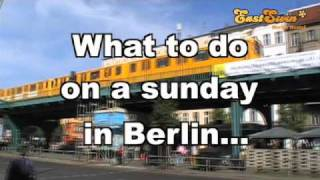 What to do on a sunday in Berlin?