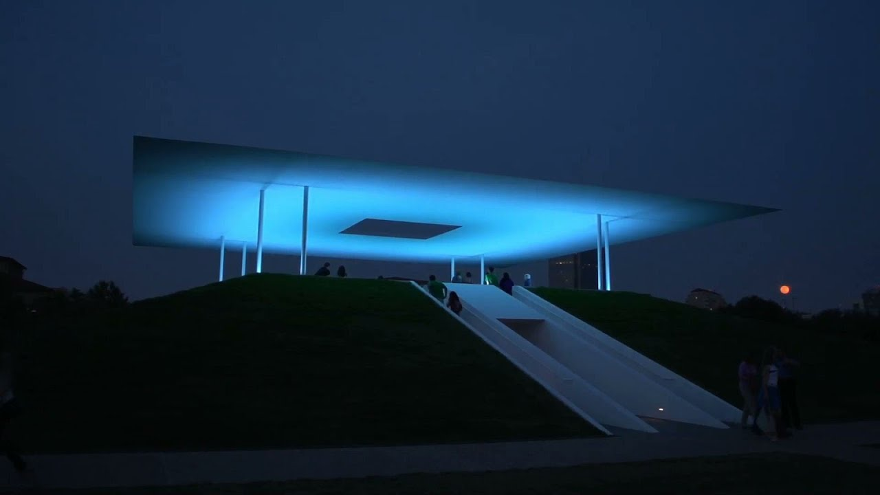 the turrell skyspace at rice university youtube. Black Bedroom Furniture Sets. Home Design Ideas