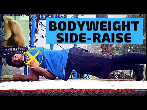 How to: Bodyweight Side Raise (Strong & Shredded Shoulders)