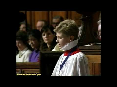 "Sky TV ""Nine Lessons & Carols"": St Alban's Cathedral 1989 (Barry Rose)"
