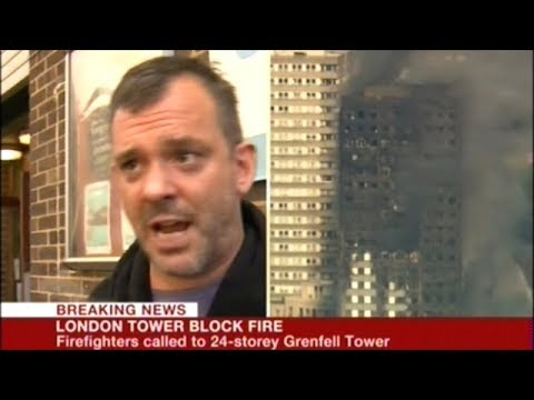 "Man Living In London Apartment That Caught Fire Says ""MEN WERE WORKING ON GAS PIPES!"""