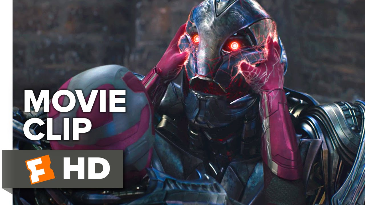 avengers age of ultron movie clip ultron vs vision