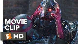 Avengers: Age of Ultron Movie CLIP - Ultron vs Vision (2015) - James Spader Movie HD thumbnail