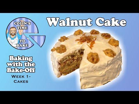 Walnut Cake | GBBO 2015 Technical Challenge | Week 1- Cakes