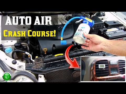 How To Recharge Your Auto AC System(HIGHLY INFORMATIVE)
