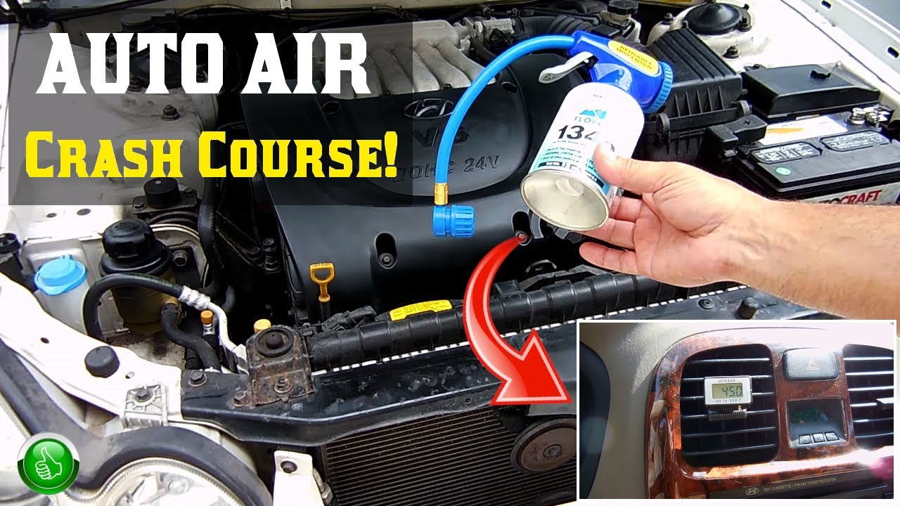 How To Recharge Your Vehicle S R134a Ac System Step By Tutorial