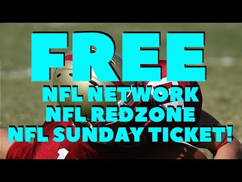 GET FREE NFL NETWORK NFL REDZONE NFL SUNDAY TICKET HERE!