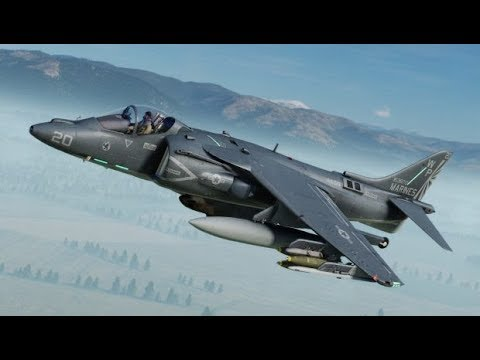 DCS World - Air to Air Refueling and Harrier Training - Charity Stream