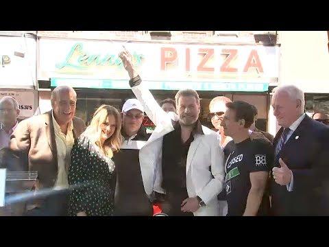 Celebrating John Travolta Day in Brooklyn