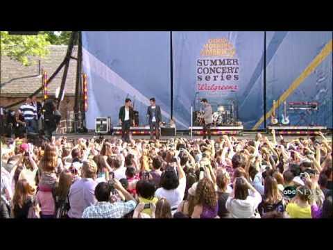 Jonas Brothers On GMA -  Please Be Mine May21,2010
