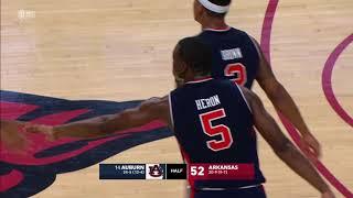 Auburn Men's Basketball Highlights vs Arkansas