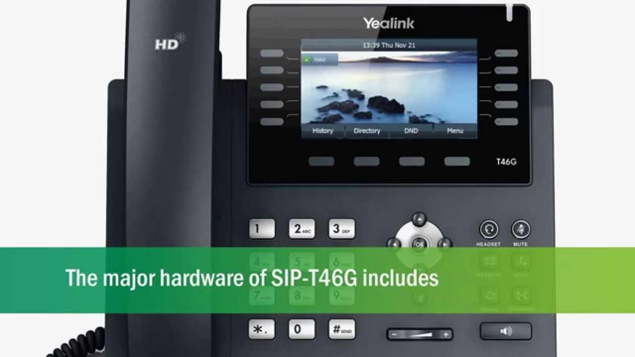 MetroConnect, LLC | Yealink T46 VoIP Phone | Clearwater, FL