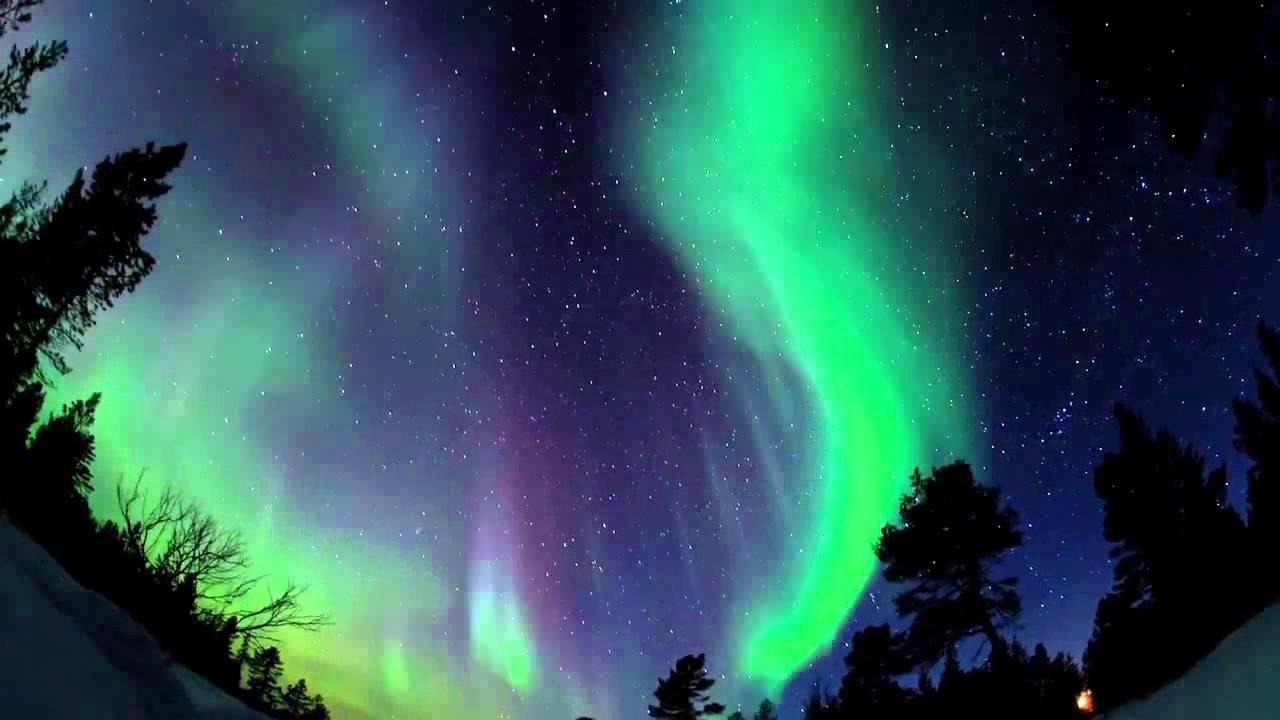 Waterfall Desktop Wallpaper Hd Polarsken Norrsken Aurora Borealis I Finland Youtube