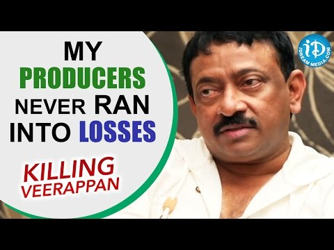 My Producers Never Ran Into Losses - RGV || Talking Movies With iDream