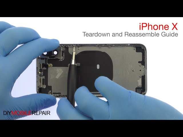 iPhone X Teardown and Reassemble Guide - DIYMobileRepair