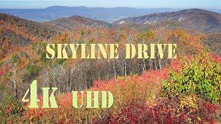 Skyline Drive,  ( Shenandoah National Park )  4k  UHD