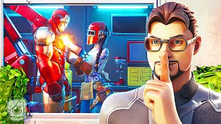 IRON MAN FALLS IN LOVE?! (A Fortnite Short Film)
