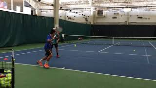 Nathan Nguyen forehand drill