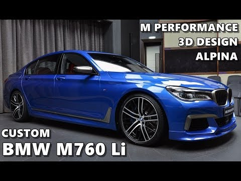 2017 Bmw M760li Xdrive Custom Youtube
