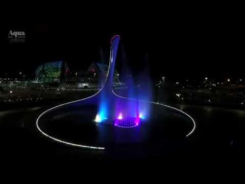 """Sia """"Unstoppable"""" / Поющий фонтан / Сочи / Олимпийский парк / Чаша Олимпийского огня"""