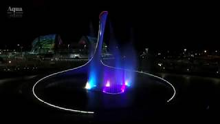 """видео: Sia """"Unstoppable"""" / Поющий фонтан / Сочи / Олимпийский парк / Чаша Олимпийского огня"""