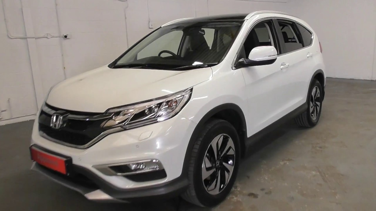 Download Honda CR-V 2.0 EX finished in White Orchid Pearl,  video walkaround !