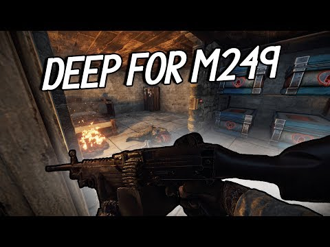 Going DEEP For M249! (Rust) thumbnail