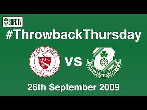 Shamrock Rovers v Sligo Rovers    26 September 2009   #ThrowbackThursday