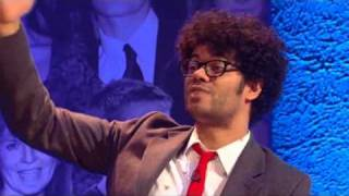 Big Fat Quiz of the Year 2010 - Richard Ayoade's Water Pressure