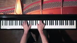 Bach Sinfonia No 3 (take 2) P  Barton, piano