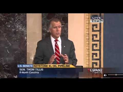 U.S. Senator Thom Tillis on offshore oil exploration