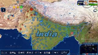 Geopolitical Simulator 4:  2018 - All Roads Lead to Delhi Ep. 58 - Indian vs. Pakistan Air Campaign