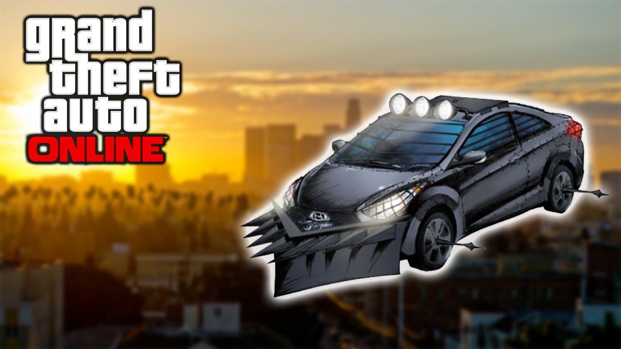 gta 5 online battering ram wheel spikes car guns heist