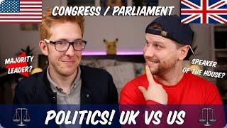 Congress VS Parliament   Politics! British VS American   Evan Edinger & Jazza John