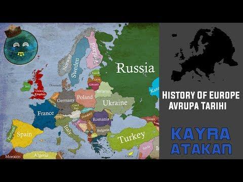 History Of Europe ~ Every Year(-1500-2018) Avrupa Tarihi ~ Her Yıl