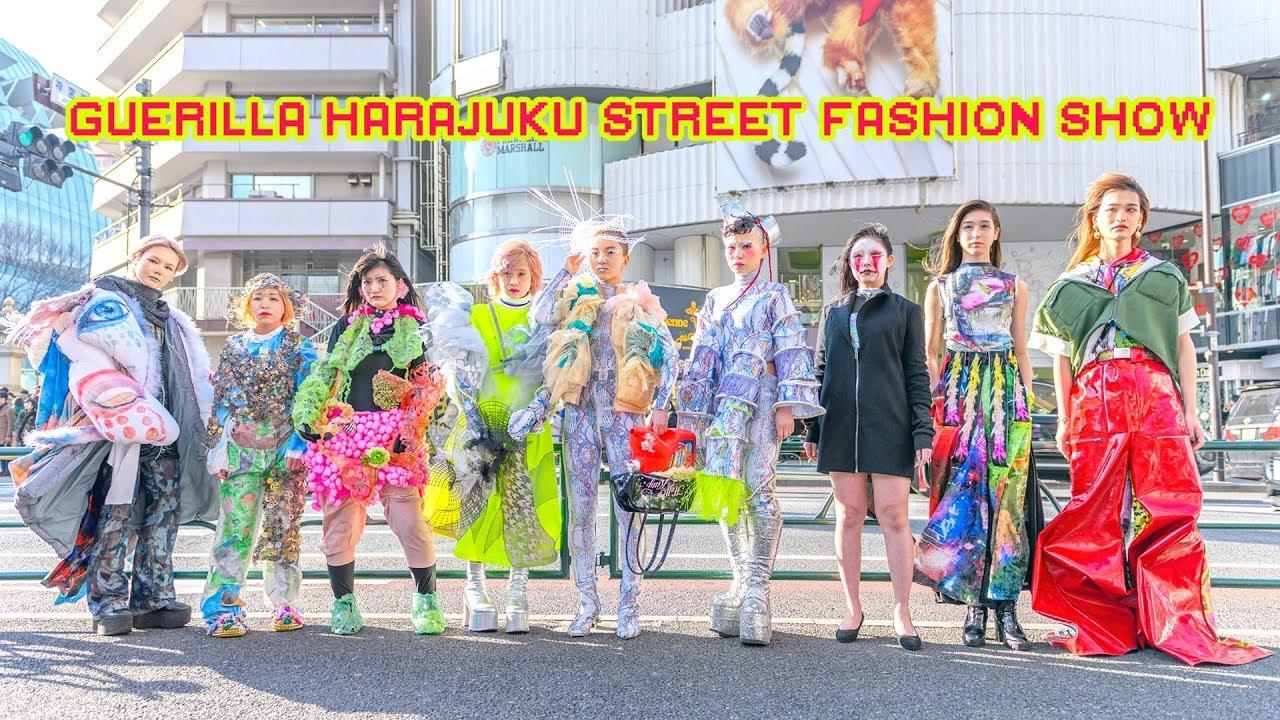 Avant-Garde Japanese Street Fashion Show in Harajuku - NEOproduction