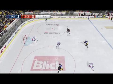 NHL17  EuroAsian League=  SC Bern - SKA St.Petersburg
