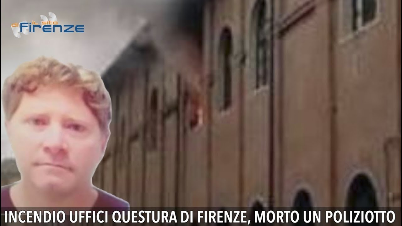 bacd933288b17 Incendio uffici Questura di Firenze