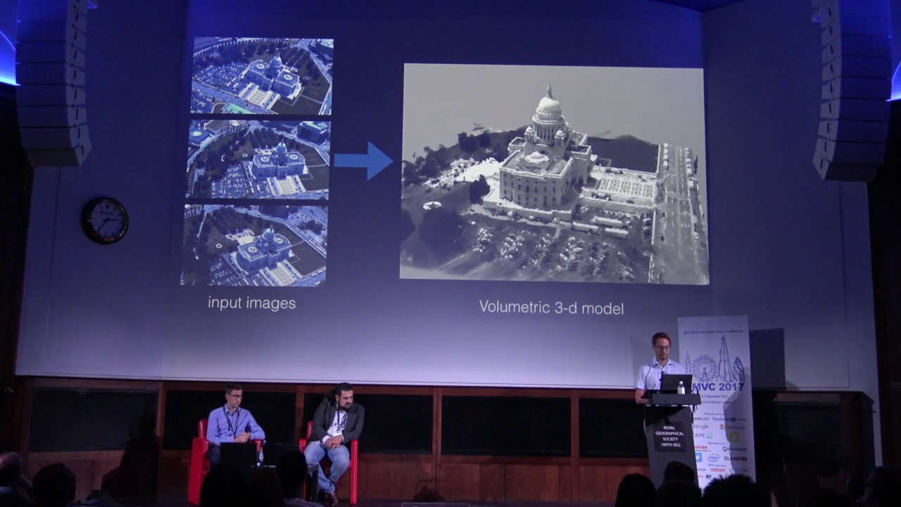 BMVC 2017 Tutorials: Probabilistic and Deep Models for 3D Reconstruction   Andreas Geiger