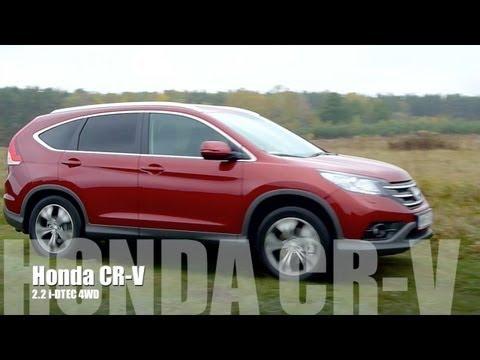 (PL) Honda CR-V 2.2 i-DTEC AWD Test i Jazda Próbna