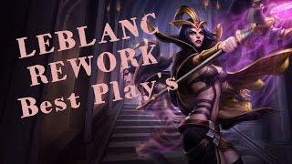 Rework Leblanc - Best Play's - NEW BEST ASSASSIN??