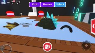 ROBLOX -Battle King Ghidorah vs Godzilla Monsters