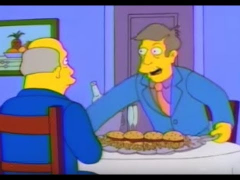 Steamed Hams but each new line of dialogue triggers every one that came before it