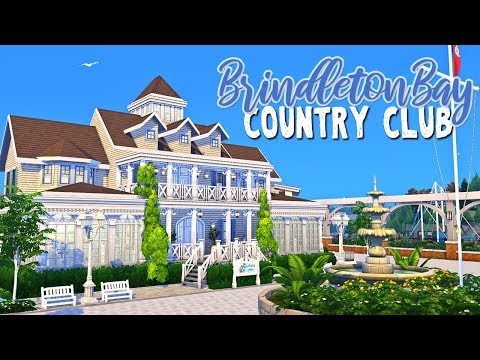 Brindleton Bay Country Club ⛵️ || The Sims 4: Speed Build