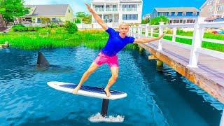 NEW Sharer Fam Beach House Toy!! (Super Rare Flying Surfboard)