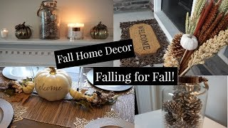 Fall Home Decor | Falling for Fall Episode #1