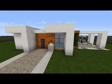 Minecraft Modernes Haus Bauen Jannis Gerzen Tutorial Deutsch By - Minecraft grobes haus bauen tutorial deutsch