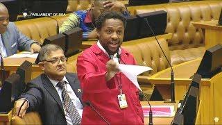 Dr Ndlozi vs David Mabuza In Parliament