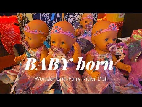 BABY born Interactive Wonderland Fairy Rider Doll from Zapf Creation
