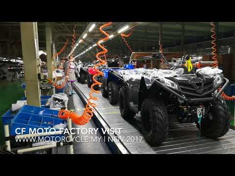 CF MOTO 500 & 800 ATV FACTORY VISIT